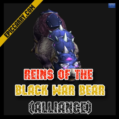 Black War Bear Wow Black War Bear Alliance